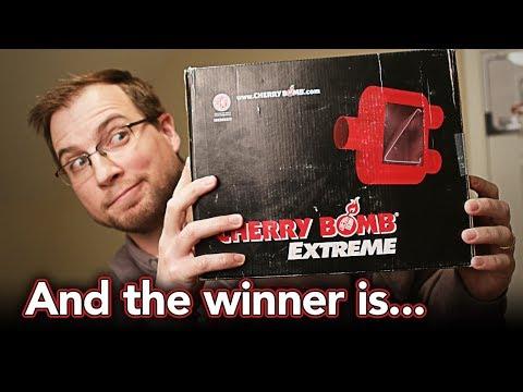Extreme Muffler GIVEAWAY WINNER & Daninator Channel Update