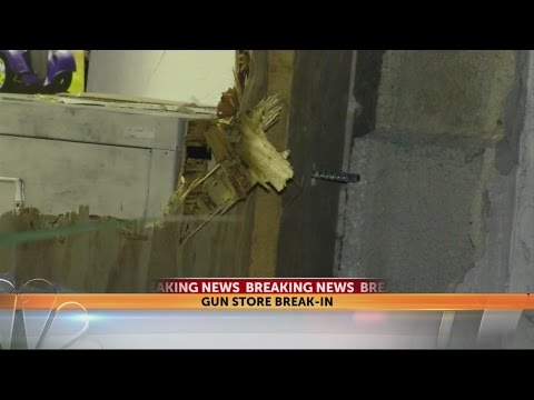 Police: At least 42 firearms stolen from Tampa gun store