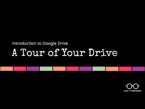 Google Drive Basics: A Tour of Your Drive