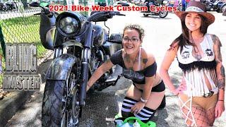 2021 Daytona Beach Bike Week, Custom Motorcycle Competition, Custom Harley-Davidson's and More!