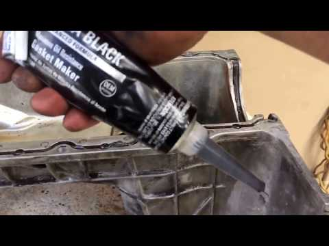 Chevy Astro van oil pan rear main seal Credit By :  je'ra live
