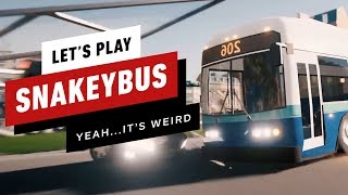 Snakeybus: Like the Classic Snake Game…But You Drive a Bus