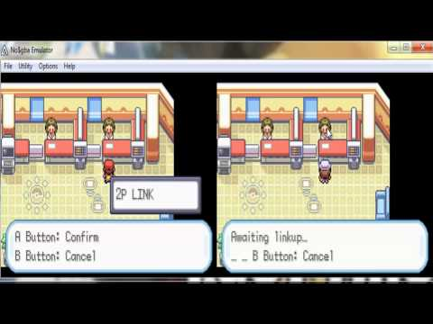 Pokemon Trading with No$gba