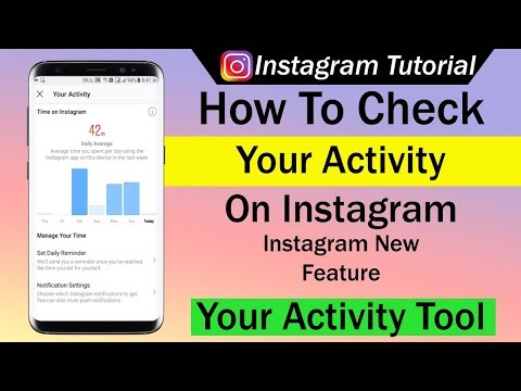 How To Check Your Activity on Instagram Using Instagram New Feature Your Activity Tool