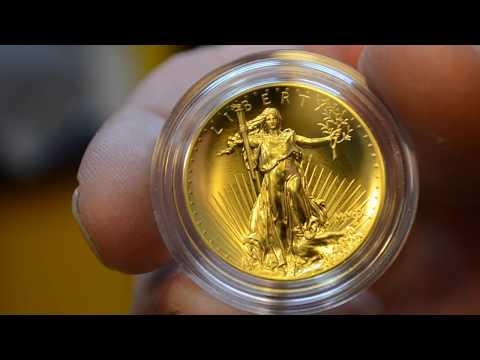 1/4 OZ. Fine Gold Channel Coin