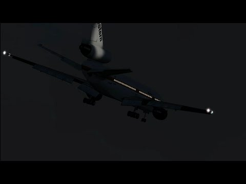 DC-10 Crash In Mexico - Western Airlines Flight 2605 - P3D