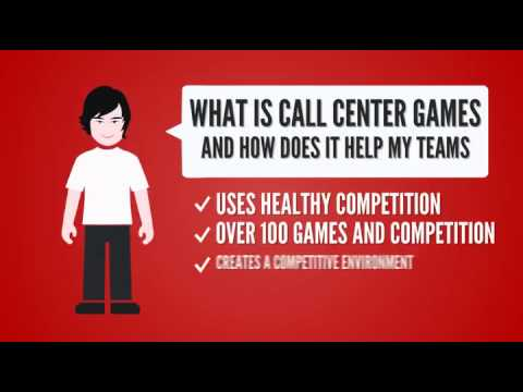 Call Center Games Drives Your Call Center Performance