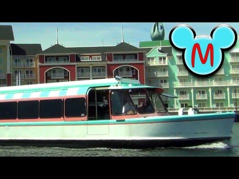 Walt Disney World Friendship Boat Ride from Disney's Hollywood Studios to Epcot