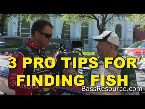 How To Find Fish Fast On A New Lake - Pro Tips | Bass Fishing