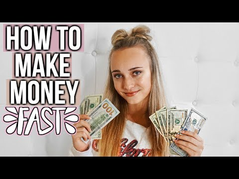 How to Make Money FAST as a Teen!