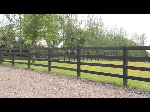 Crowe's Sawmill Standard Post & Rail Fence