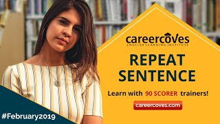 PTE - Repeat Sentence - February Edition 2019 ©