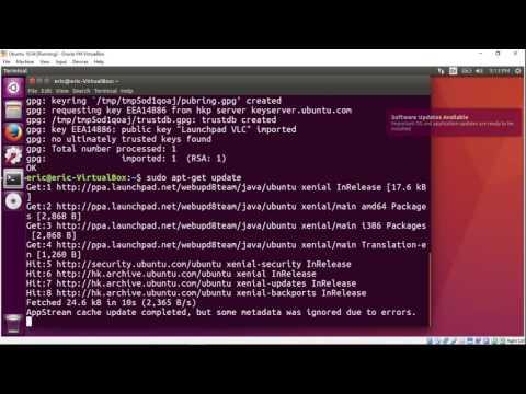 Install java (jdk) on Ubuntu 16.04 using PPA