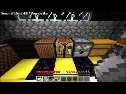 [MH] How to make items: Fence Gate, Iron Bars, and Glass Panes (1.8)