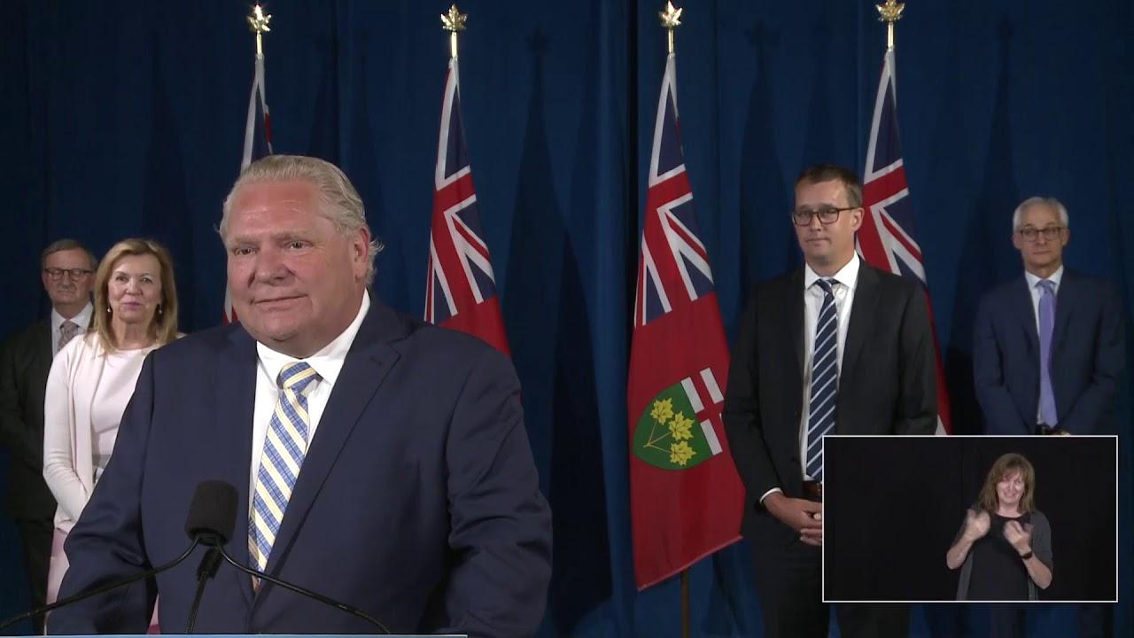 Premier Ford provides a COVID-19 update | June 24