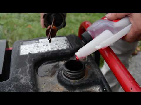 How to prevent fuel in your garden equipment from going bad.