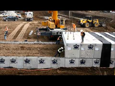 Supersized Clamshell Box Culvert Install - 407 ETR & Anchor Concrete