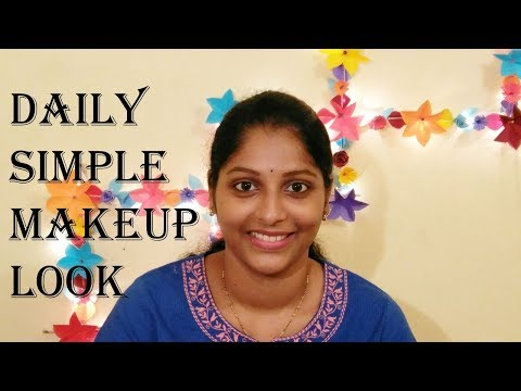Daily Makeup Routine    In Telugu    Simple & Easy    Affordable Products