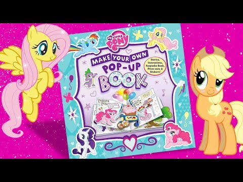 My little pony 'Make your own pop-up book' MLP activity sticker book