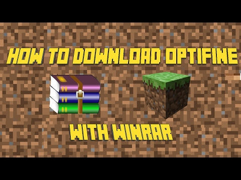 How to install OPTIFINE with WINRAR [SOLUTION][WORKING][2018]