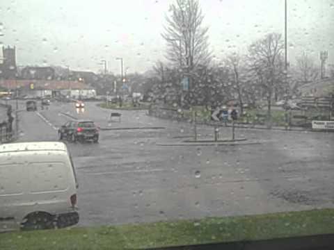 Worst car crash ever caught on camera in UK... WARNING