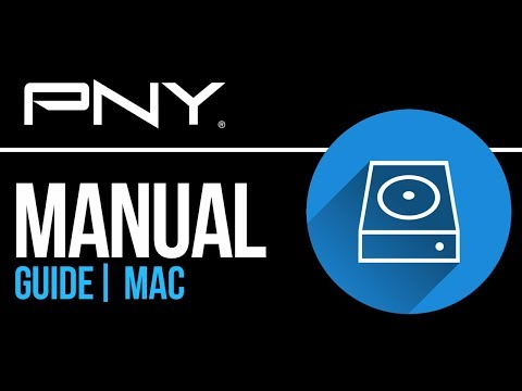 PNY external hard drive Set Up Guide for Mac 2019