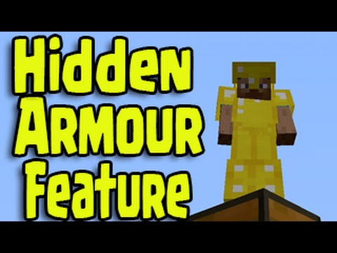 Minecraft PS4, PS3, Xbox - Armour Feature - Hidden Secret Select Option!