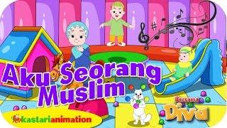 AKU SEORANG MUSLIM  - Lagu Anak Indonesia - HD   Kastari Animation Official