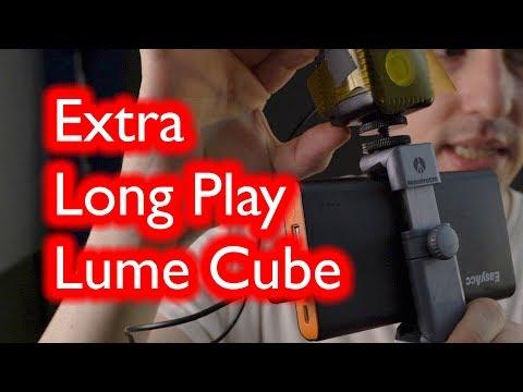 2 hour Lume Cube Portable Lightweight Video LED color setup