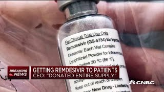 U.S. government to control distribution of remdesivir, raising geopolitical concerns
