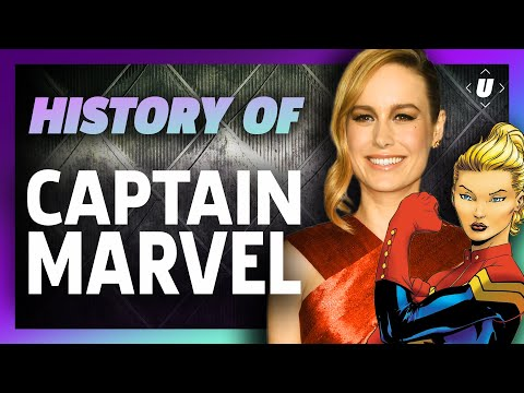 The Comic History of Captain Marvel