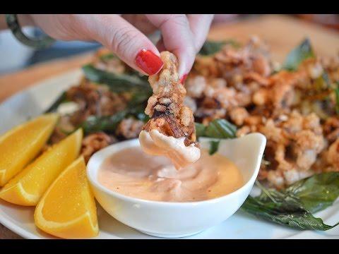 Fried Crispy Squid Tentacles -  Đầu Mực Chiên Giòn