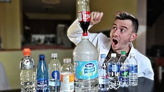 DIY WATER BOTTLE FLIP SCIENCE EXPERIMENT!!! *FINDING THE BEST BOTTLE*
