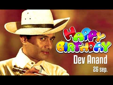 Happy Birthday Dev Anand 26 sep 2016