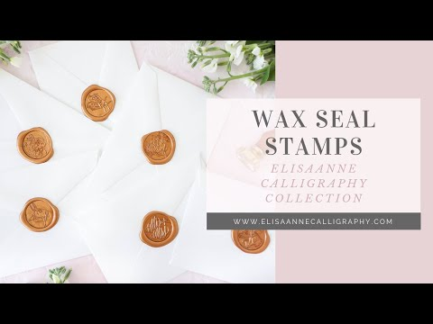Wax Seal Stamp Collection - Spring 2018 Launch