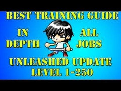 Maplestory level guide 1-120 (fastest way) HD 2014 Best in test februari