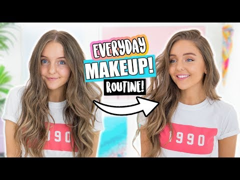 EVERYDAY MAKEUP ROUTINE 2018!!!