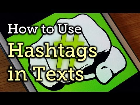 Use Hashtags in Texts to Share Locations, Music, & Other Info - Samsung Galaxy Note 2 [How-To]