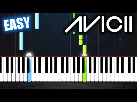 Avicii Tribute - EASY Piano Tutorial by PlutaX