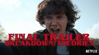STRANGER THINGS 2 Final Trailer Breakdown + Theories