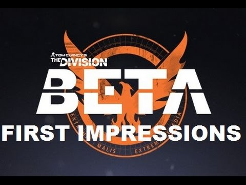 The Division BETA First Impressions