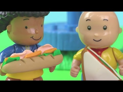 Caillou's Picnic Lunch in the Treehouse! #CaillouHolidayFun | Toyshop - Toys for Kids ADVERTISEMENT