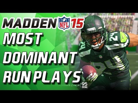 Madden 15 - How to Run the Ball Effectively! (Best Formation!) - Madden 15 Tips