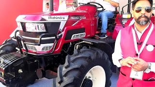 New Model Mahindra 605 DI 57 Hp AC Cabin Tractor Price Specification