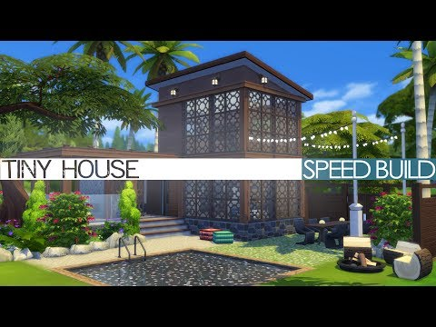 The Sims 4 Speed Build - TINY HOUSE