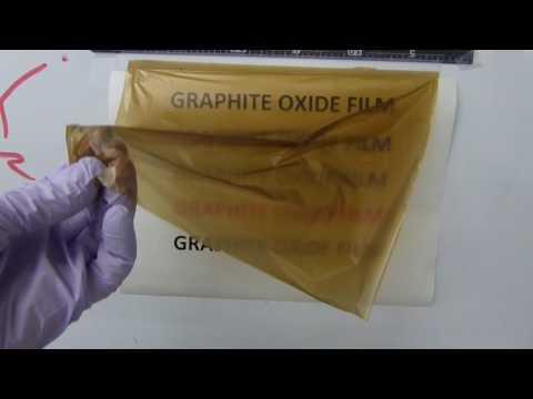 Free-standing graphene oxide film