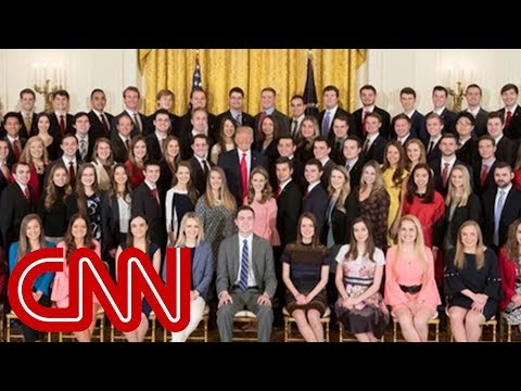 Lack of diversity in White House intern group