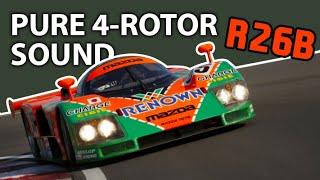 Orgasmic sound of 4-rotor Mazda 787B