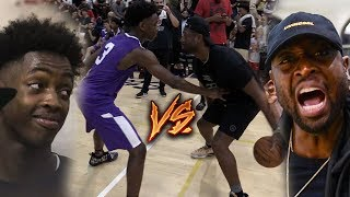 Dwyane Wade & Son 1V1 in Pro-Am! Zaire Wade Sends Game TO OT in Miami!
