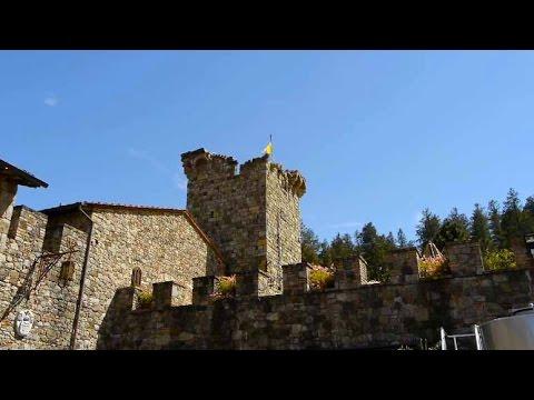 Building a Medieval  Castle in Napa California, Castello di Amorosa